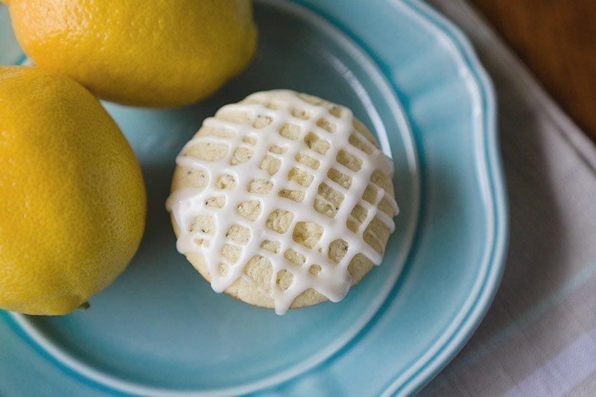 Lemon Poppyseed Muffin Recipe from Quill & Glass blog
