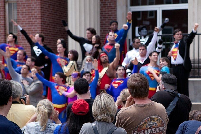 Street Photography at the Metropolis Superman Festival