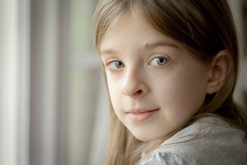 Macro Portrait by window light
